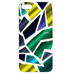 Mosaic Shapes Apple iPhone 5 Hardshell Case with Stand