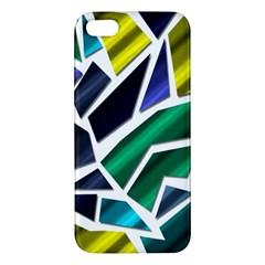 Mosaic Shapes Apple iPhone 5 Premium Hardshell Case