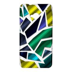 Mosaic Shapes HTC One M7 Hardshell Case