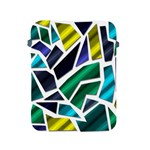 Mosaic Shapes Apple iPad 2/3/4 Protective Soft Cases Front