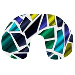 Mosaic Shapes Travel Neck Pillows Front