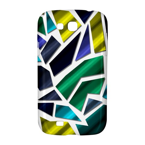 Mosaic Shapes Samsung Galaxy Grand GT-I9128 Hardshell Case