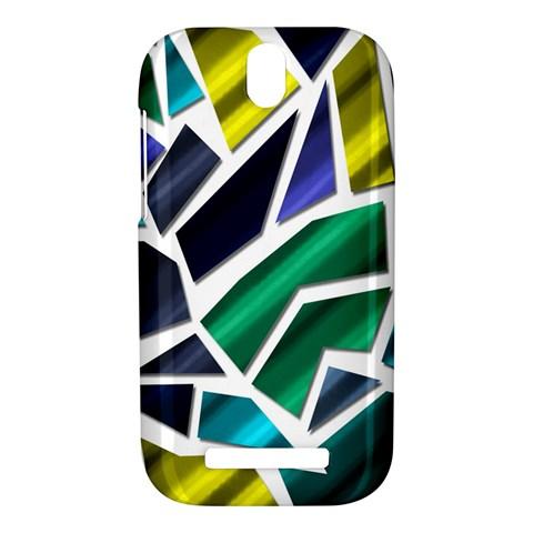 Mosaic Shapes HTC One SV Hardshell Case
