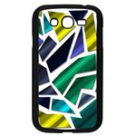 Mosaic Shapes Samsung Galaxy Grand DUOS I9082 Case (Black) Front