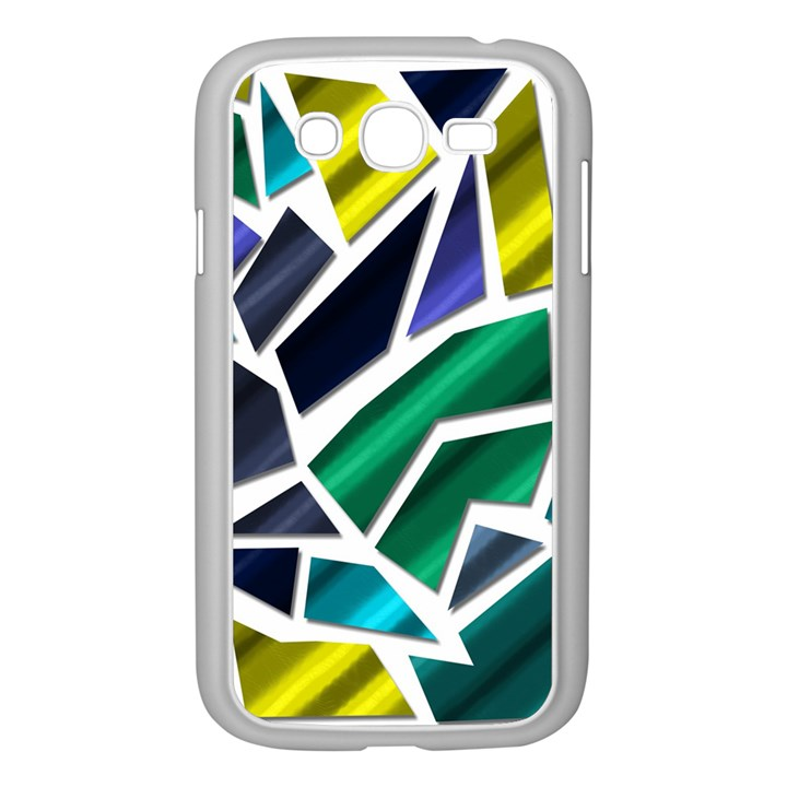 Mosaic Shapes Samsung Galaxy Grand DUOS I9082 Case (White)