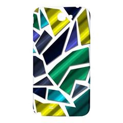 Mosaic Shapes Samsung Note 2 N7100 Hardshell Back Case