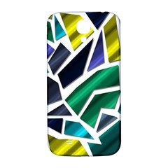 Mosaic Shapes Samsung Galaxy S4 I9500/I9505  Hardshell Back Case