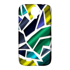 Mosaic Shapes Samsung Galaxy S4 Classic Hardshell Case (PC+Silicone)