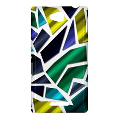 Mosaic Shapes Sony Xperia C (S39H)