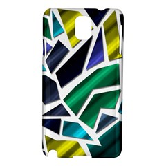 Mosaic Shapes Samsung Galaxy Note 3 N9005 Hardshell Case