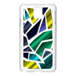 Mosaic Shapes Samsung Galaxy Note 3 N9005 Case (White) Front