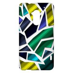 Mosaic Shapes HTC One Max (T6) Hardshell Case