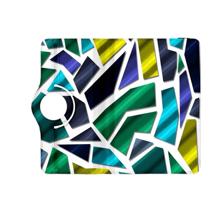 Mosaic Shapes Kindle Fire HDX 8.9  Flip 360 Case