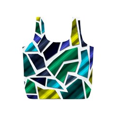 Mosaic Shapes Full Print Recycle Bags (S)