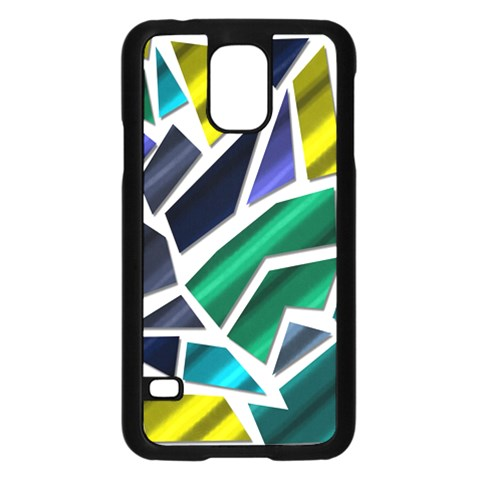 Mosaic Shapes Samsung Galaxy S5 Case (Black)