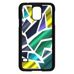 Mosaic Shapes Samsung Galaxy S5 Case (Black) Front