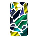 Mosaic Shapes Samsung Galaxy S5 Back Case (White) Front