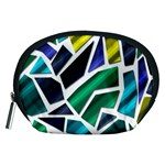 Mosaic Shapes Accessory Pouches (Medium)  Front