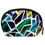 Mosaic Shapes Accessory Pouches (Large)  Back