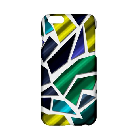 Mosaic Shapes Apple iPhone 6/6S Hardshell Case