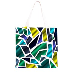 Mosaic Shapes Grocery Light Tote Bag