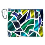 Mosaic Shapes Canvas Cosmetic Bag (XXL) Front