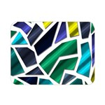 Mosaic Shapes Double Sided Flano Blanket (Mini)  35 x27 Blanket Front