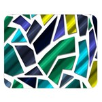 Mosaic Shapes Double Sided Flano Blanket (Large)  80 x60 Blanket Front