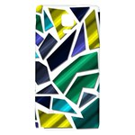 Mosaic Shapes Galaxy Note 4 Back Case Front