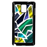 Mosaic Shapes Samsung Galaxy Note 4 Case (Black) Front