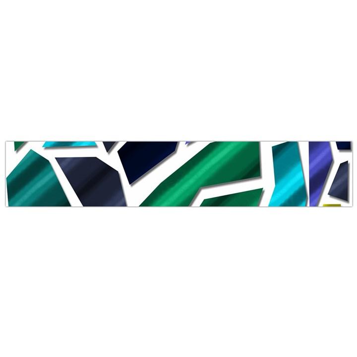 Mosaic Shapes Flano Scarf (Large)