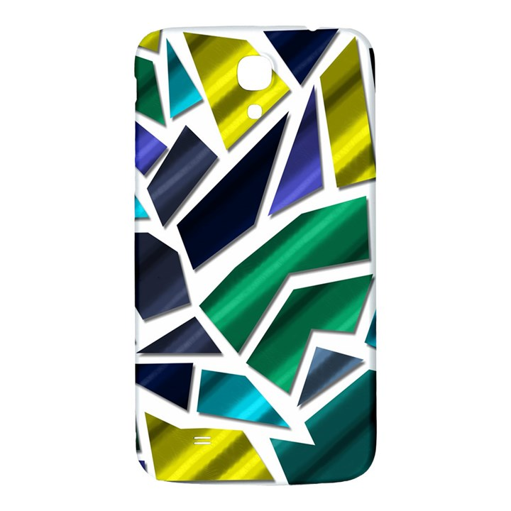Mosaic Shapes Samsung Galaxy Mega I9200 Hardshell Back Case