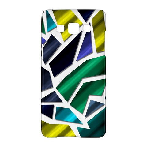 Mosaic Shapes Samsung Galaxy A5 Hardshell Case
