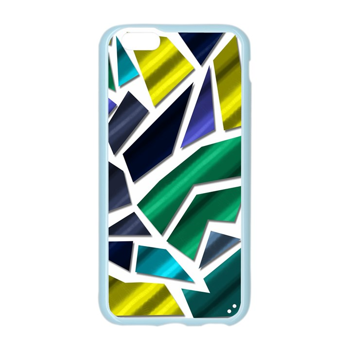 Mosaic Shapes Apple Seamless iPhone 6/6S Case (Color)