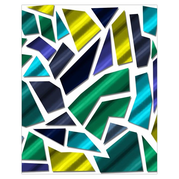 Mosaic Shapes Drawstring Bag (Small)