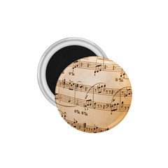 Music Notes Background 1.75  Magnets
