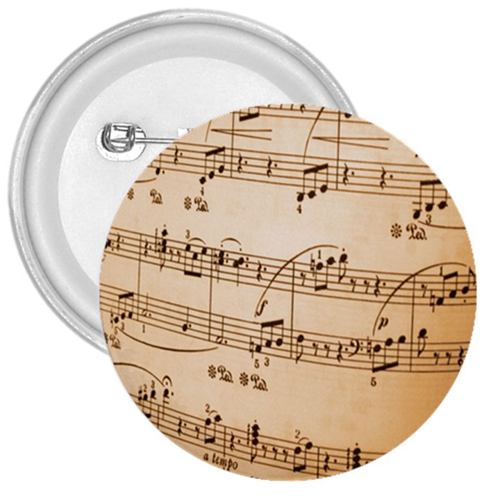 Music Notes Background 3  Buttons