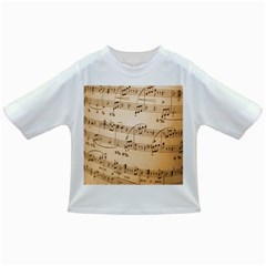 Music Notes Background Infant/Toddler T-Shirts