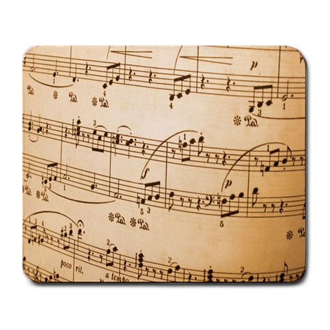 Music Notes Background Large Mousepads