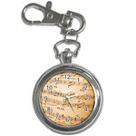 Music Notes Background Key Chain Watches Front