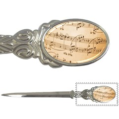 Music Notes Background Letter Openers