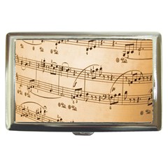 Music Notes Background Cigarette Money Cases