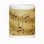Music Notes Background Night Luminous Mugs Center
