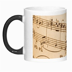 Music Notes Background Morph Mugs