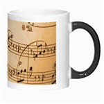 Music Notes Background Morph Mugs Right
