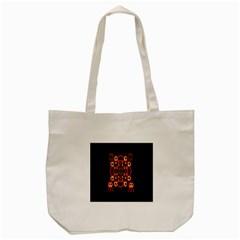 Alphabet Shirt Tote Bag (Cream)