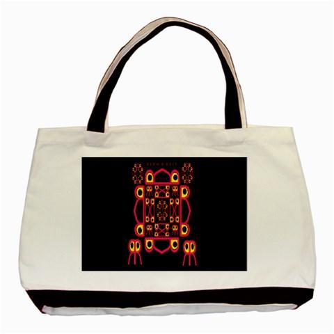 Alphabet Shirt Basic Tote Bag