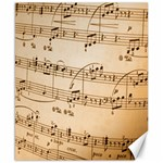 Music Notes Background Canvas 8  x 10  10.02 x8 Canvas - 1
