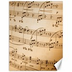 Music Notes Background Canvas 12  x 16   16 x12 Canvas - 1