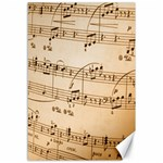 Music Notes Background Canvas 12  x 18   18 x12 Canvas - 1